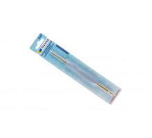 Крючок двухсторонний 2.5 мм-3.5 мм Гамма с прорезин. ручкой