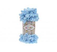 Alize Puffy 287 нежно-голубой