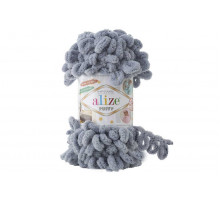Alize Puffy 428 средне-серый