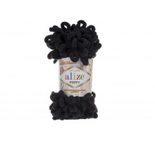 Alize Puffy 060 черный