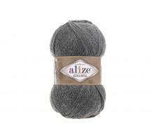 Alize Alpaca Royal 196 серый меланж