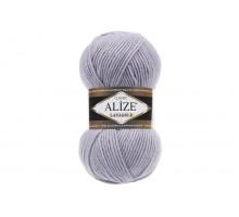 Alize Lanagold Classic 200 серо-сиреневый