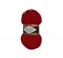 Alize Lanagold Classic 056 красный