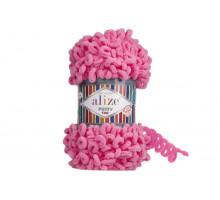 Alize Puffy Fine 121 розовый леденец