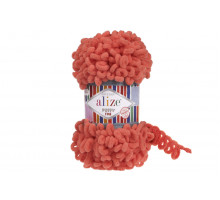 Alize Puffy Fine 526 яркий коралл