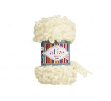 Alize Puffy Fine 062 светло-молочный