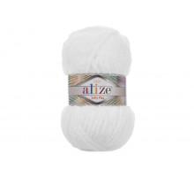 Alize Softy Plus 055 белый