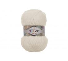 Alize Softy Plus 062 светло-молочный