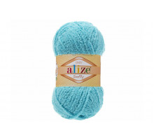 Alize Softy 128 голубая бирюза