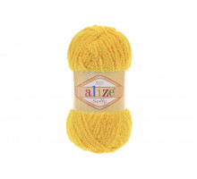 Alize Softy 216 ярко-желтый