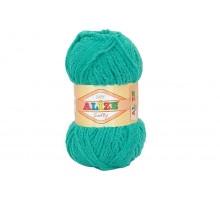 Alize Softy 490 зеленая бирюза