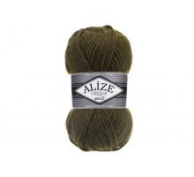 Alize Superlana Maxi 214 оливковый зеленый