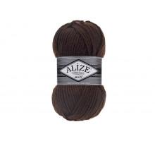 Alize Superlana Maxi 026 темный шоколад