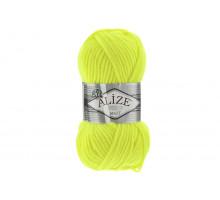 Alize Superlana Maxi 552 желтый неон