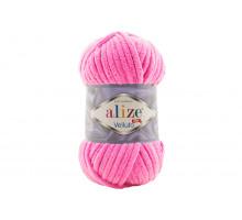 Alize Velluto 121 розовый леденец