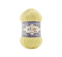 Alize Velluto 013 светло-желтый