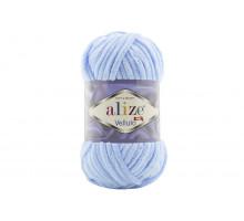 Alize Velluto 218 детский голубой