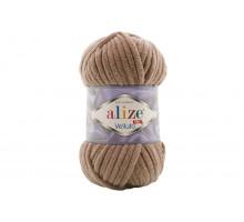 Alize Velluto 329 молочно-коричневый