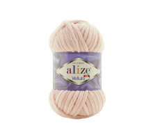Alize Velluto 340 розовая пудра