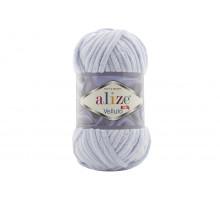Alize Velluto 416 серо-голубой