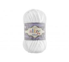 Alize Velluto 055 белый