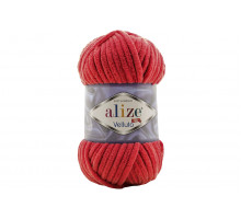 Alize Velluto 056 красный