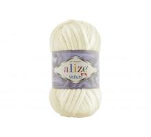 Alize Velluto 062 светло-молочный