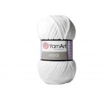 YarnArt Dolce 741 белый