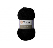 YarnArt Dolce 742 черный