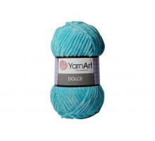 YarnArt Dolce 746 светлая бирюза