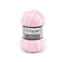 YarnArt Dolce 750 нежно-розовый