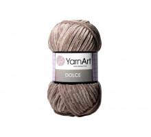 YarnArt Dolce 754 кофе с молоком