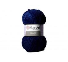YarnArt Dolce 756 темно-синий