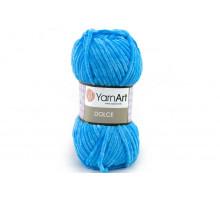 YarnArt Dolce 758 ярко-голубой