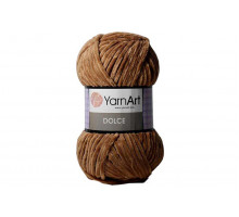 YarnArt Dolce 765 коричневый