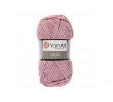 YarnArt Dolce 769 пыльная роза