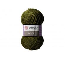 YarnArt Dolce 772 хаки