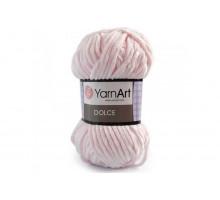 YarnArt Dolce 781 бледно-розовый