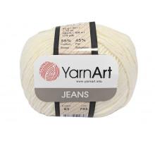YarnArt Jeans 03 молочный