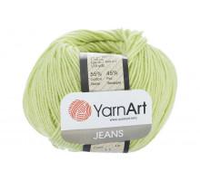 YarnArt Jeans 11 салатовый