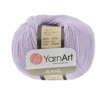 YarnArt Jeans 19 светло-сиреневый