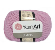 YarnArt Jeans 20 розовый