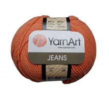 YarnArt Jeans 23 морковный