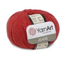 YarnArt Jeans 26 красный