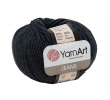 YarnArt Jeans 28 темно-серый