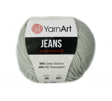 YarnArt Jeans 49 светло-серый