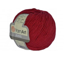 YarnArt Jeans 51 вишневый