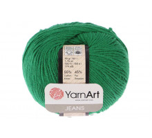 YarnArt Jeans 52 зеленый