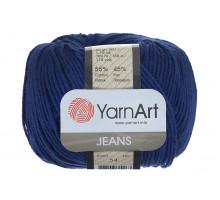 YarnArt Jeans 54 глубокий синий