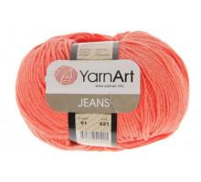YarnArt Jeans 61 коралл